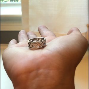 James Avery fish ring